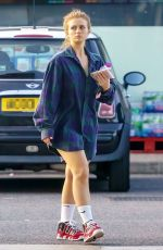 MAISIE SMITH Out in Borehamwood 09/13/2021