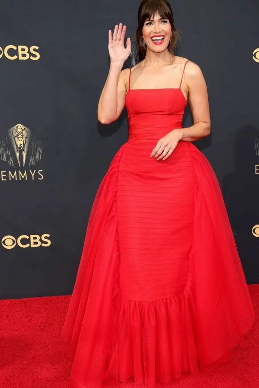 MANDY MOORE at 73rd Primetime Emmy Awards in Los Angeles 09/19/2021