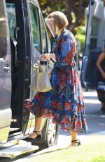MANDY MOORE on the Set of This is Us in Los Angeles 09/22/2021