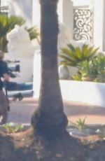MARGOT ROBBIE on the Set of Babylon in Los Angeles 09/07/2021