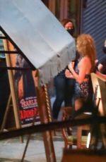 MARGOT ROBBIE on the Set of Babylon in Los Angeles 09/21/2021