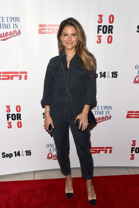 MARIA MENOUNOS at Once Upon A Time In Queens Premiere in Los Angeles 09/10/2021
