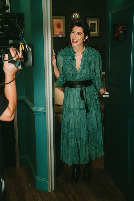 MARY ELIZABETH WINSTEAD at Late Late Show with James Corden 09/13/2021
