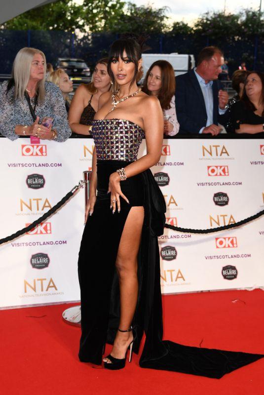 MAYA JAMA at National Television Awards 2021 at O2 Arena in London 09/09/2021