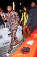 MEGAN THEE STALLION Arrives at Rihanna