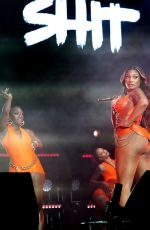 MEGHAN THEE STALLION Performs at 2021 Life is Beautiful Music & Art Festival in Las Vegas 09/17/2021