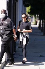MELANIE CHISHOLM at Dancing With The Stars Rehearsal Studio in Los Angeles 09/14/2021