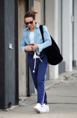 MELANIE CHISHOLM Leaves Dance Studio in Los Angeles 09/22/2021