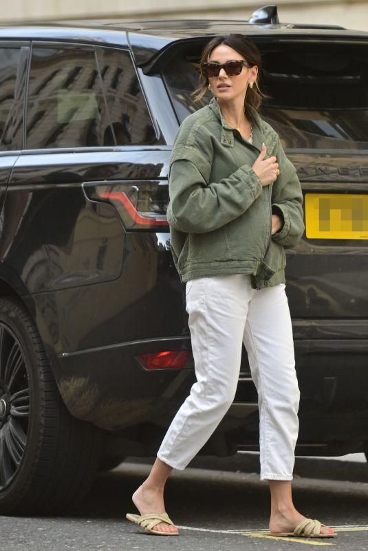 MICHELLE KEEGAN Leaves Corinthian Hotel in London 09/17/2021