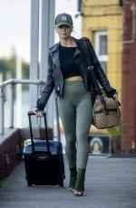 NADIYA BYCHKOVA Leaves Strictly Training Studios 09/16/2021