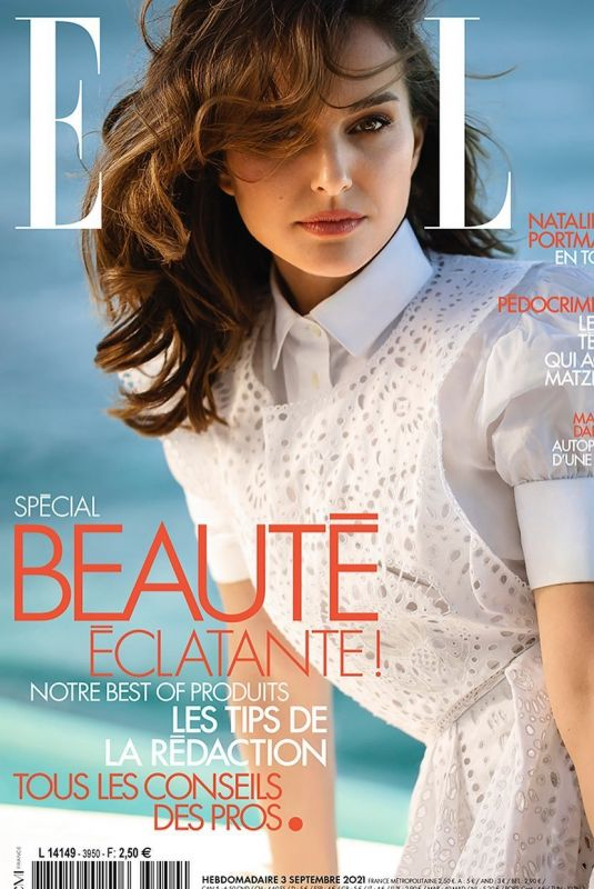 NATALIE PORTMAN on the Cover of Elle Magazine, France September 2021