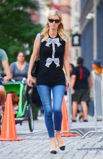 NICKY HILTON Out and About in New York 09/19/2021