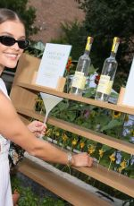 NINA AGDAL at Belvedere Organic Infusions Launch in New York 07/14/2021