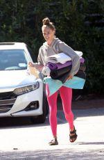 NINA AGDAL Leaves Her Yoga Class in New York 09/25/2021