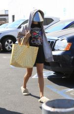 OLIVIA AJDE Aerrives at Dancing with the Stars Practice in Los Angeles 09/07/2021