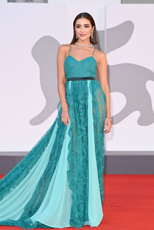 OLIVIA CULPO at America Latina Premiere at 78th Venice International Film Festival 09/09/2021