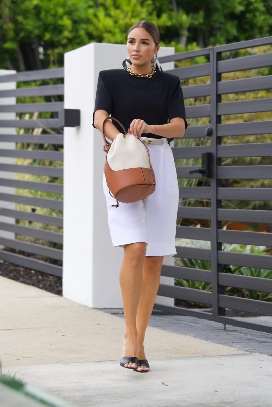 OLIVIA CULPO Out in West Hollywood 09/07/2021