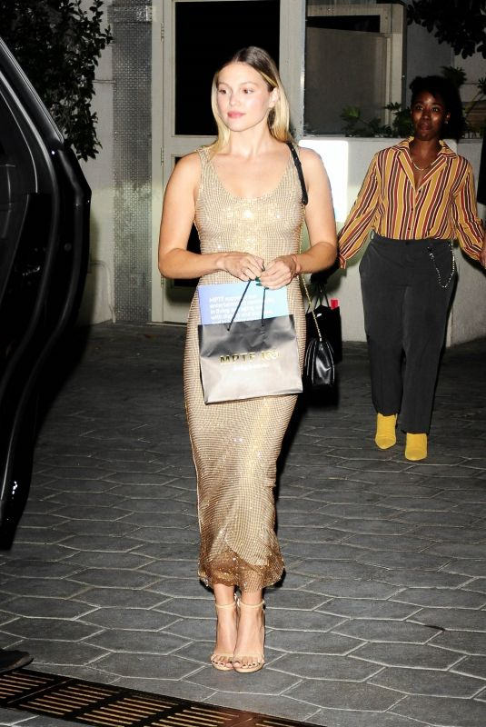 OLIVIA HOLT at Sunset Tower Hotel in Los Angeles 09/12/2021
