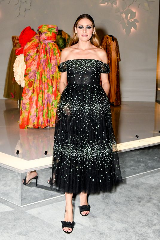 OLIVIA PALERMO at Christian Dior: Designer of Dreams Exhibition Opening in New York 0908/2021