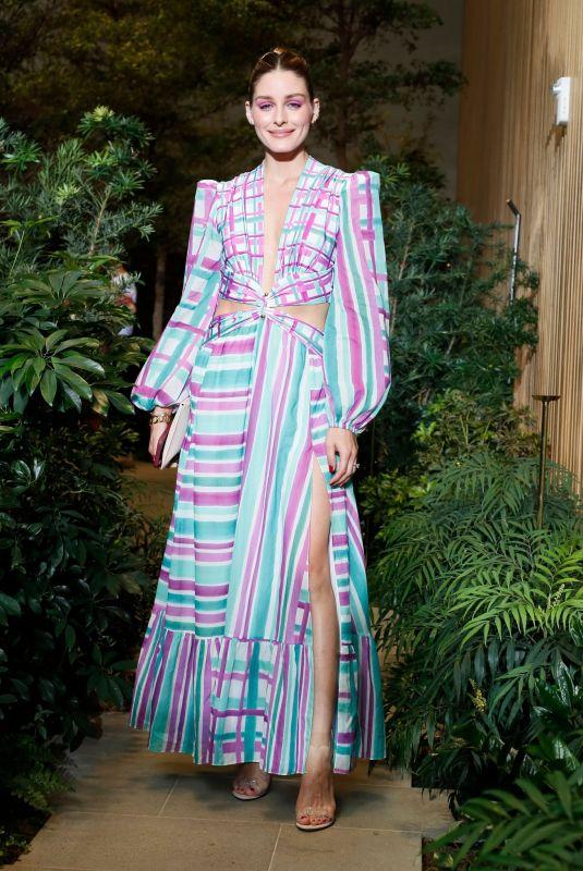 OLIVIA PALERMO at Patbo Show at New york Fashion Week 09/08/2021