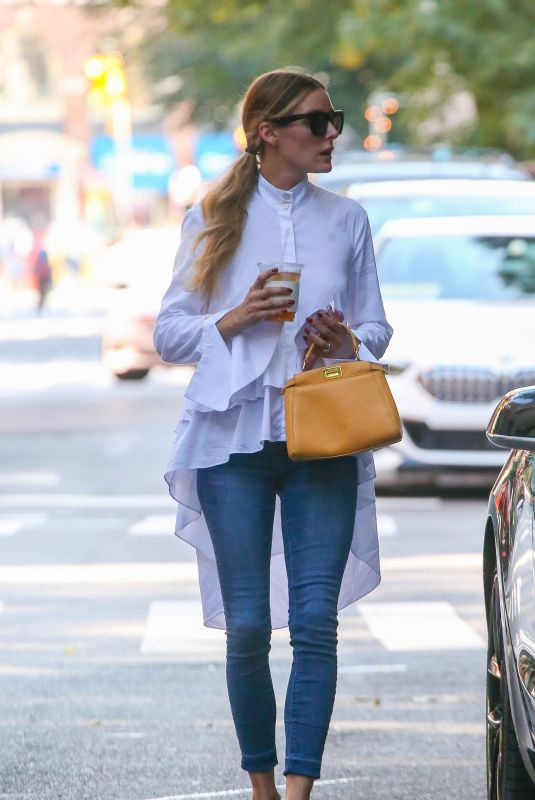 OLIVIA PALERMO Out in New York 09/18/2021