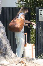 OLIVIA WILDE Leaves Her Home in Los Angeles 09/12/2021