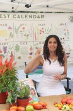 PADMA LAKSHMI at Her Book Tomatoes for Neela Signing at Union Square Greenmarket 09/03/2021