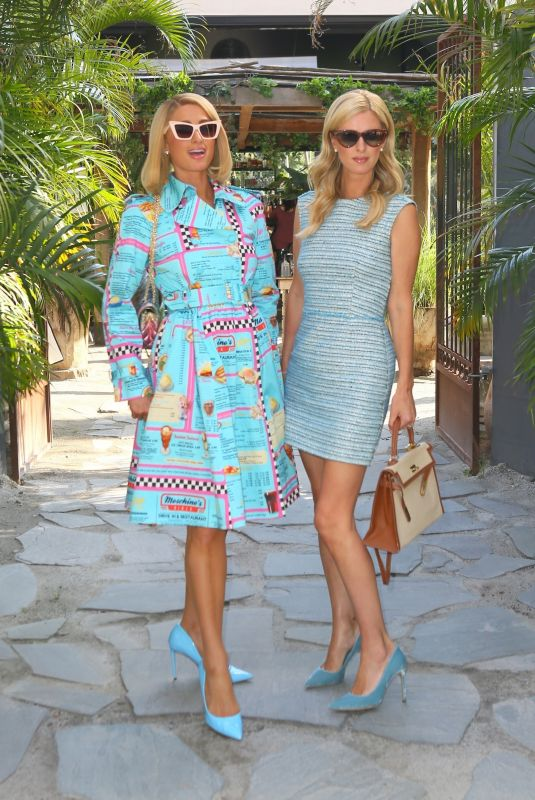 PARIS and NICKY HILTON at Modern Mexican Kitchen Gitano in New York 09/10/2021