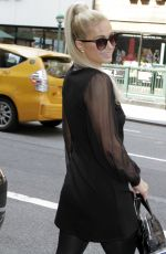 PARIS HILTON Out and About in New York 09/14/2021