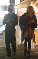 PARIS JAKCON Out on a Date Night in Los Angeles 09/16/2021