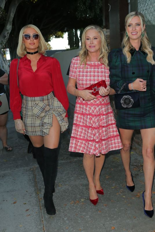 PARIS, NICKY and KATY HILTON Hosts 16th Annual Christmas in September Charity Event in West Hollywood 09/21/2021
