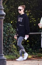 PHOEBE and HARRIET DYNEVOR Out in London 09/18/2021