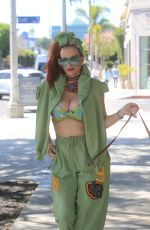PHOEBE PRICE Out and About in Los Angeles 09/23/2021