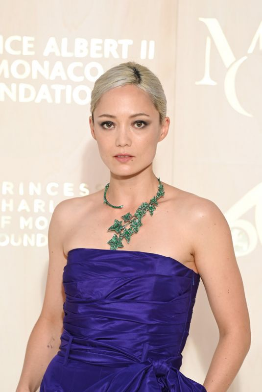 POM KLEMENTIEFF at 2021 Monte-Carlo Gala for Planetary Health 09/23/2021