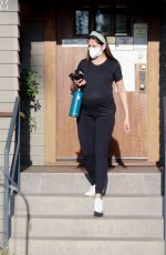 Pregnant FREIDA PINTO at Osteopathic Physician and Acupuncturist Office in Pasadena 09/02/2021