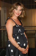 Pregnant SOPHIA DI MARTINO at Sweetheart BFI Preview at BFI Southbank in London 09/13/2021
