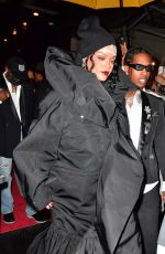 RIHANNA and Asap Rocky Heading to Met Gala in New York 09/13/2021