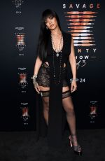 RIHANNA at Savage x Fenty Show, Vol. 3 Premiere in New York 09/22/2021