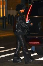 RIHANNA Night Out in New York 09/16/2021