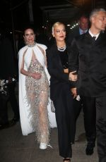 RITA ORA and EMILY BLUNT at Boom Boom 2021 Met Gala Afterparty in New York 09/13/2021