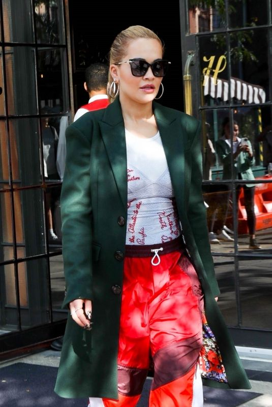 RITA ORA Out for Lunch in New York 09/11/2021