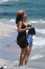 ROSARIO DAWSON Out with a Friend at a Beach in Miami 09/15/2021