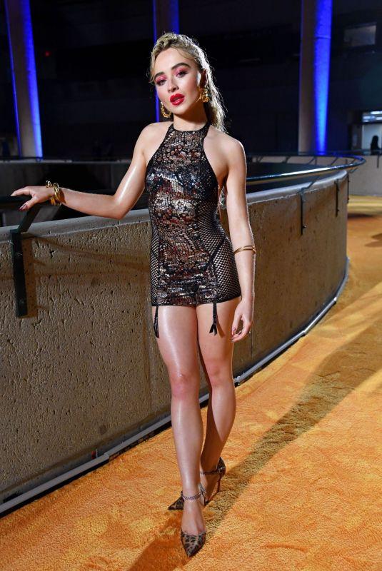SABRINA CARPENTER at Savage x Fenty Show, Vol. 3 in Los Angeles 09/22/2021