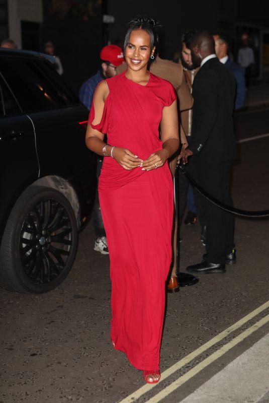 SABRINA ELBA at British Vogue and Tiffany & Co Celebrate Fashion and Film in London 09/20/2021