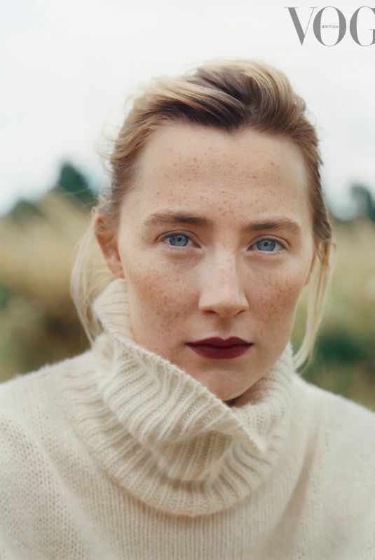 SAOIRSE RONAN for Vogue Magazine, UK September 2021