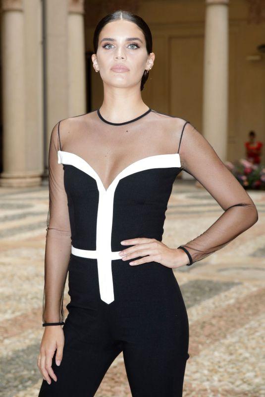 SARA SAMPAIO at Genny Fashion Show in Milan 0/23/2021