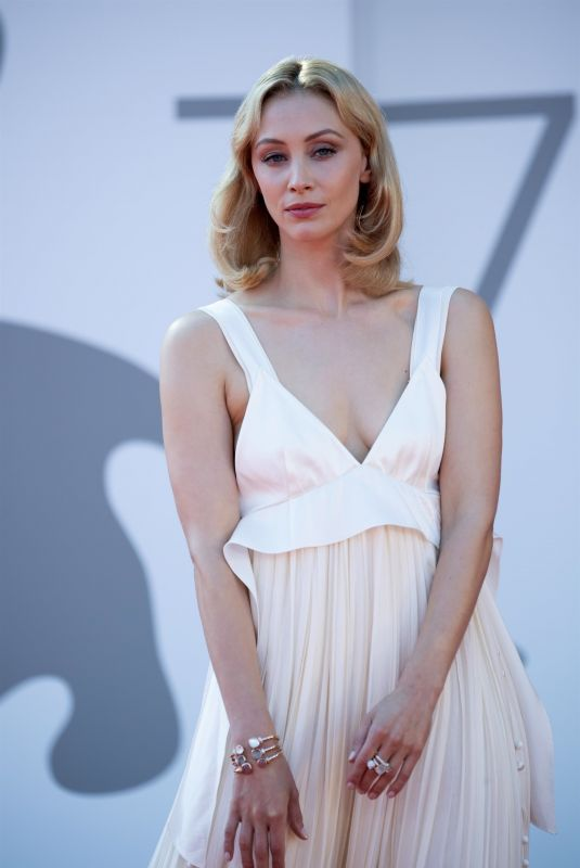 SARAH GADON at The Power of the Dog Premiere at 78th Venice Film Festival 09/02/2021