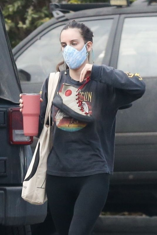 SCOUT WILLIS Arrives at a Gym in Los Angeles 08/31/2021