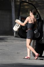 SCOUT WILLIS Cradles Her Dog Out in Los Angeles 09/03/2021