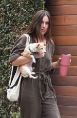 SCOUT WILLIS Out with Her Dog in Los Angeles 08/31/2021